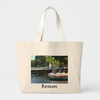 La bolsa de asas del jardín público de Boston