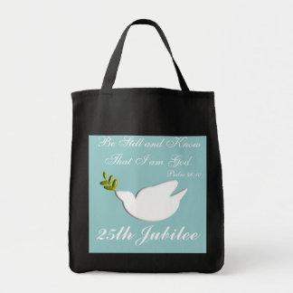La bolsa de asas del jubileo de plata de las monja