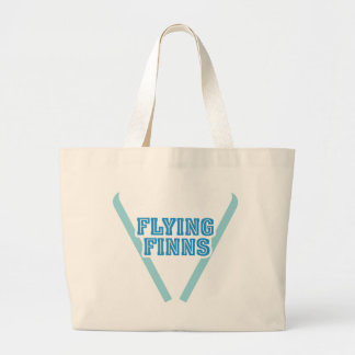 La bolsa de asas del jumbo de los Finns del vuelo