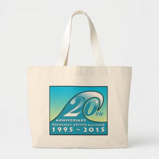La bolsa de asas del jumbo del aniversario del RAA