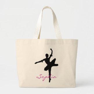 La bolsa de asas del jumbo del ballet