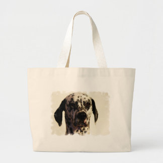 La bolsa de asas del jumbo del perro de Dalmation
