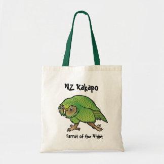 La bolsa de asas del Kakapo de NZ