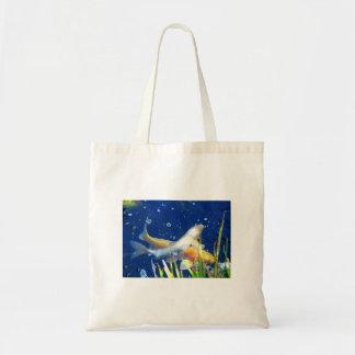 la bolsa de asas del koi de la natación