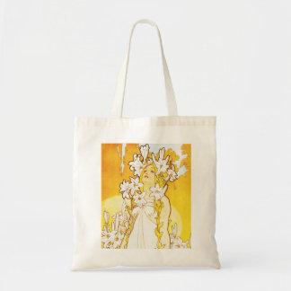 La bolsa de asas del lirio de Alfonso Mucha