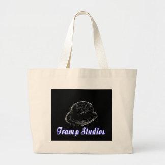 La bolsa de asas del logotipo de los estudios del