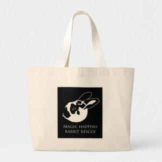 La bolsa de asas del logotipo de MHRR