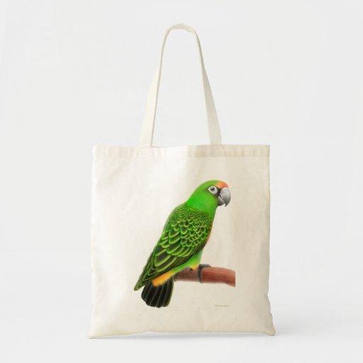La bolsa de asas del loro de Jardine