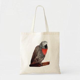 La bolsa de asas del loro del coronel gris