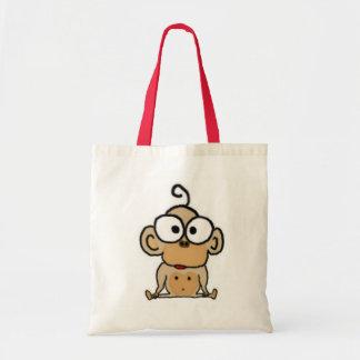 La bolsa de asas del mono del bebé