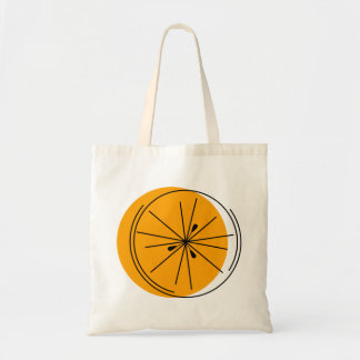 La bolsa de asas del naranja de la fruta cítrica