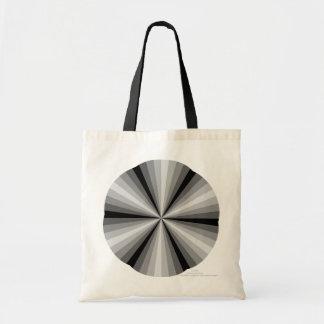 La bolsa de asas del negro de la ilusión óptica