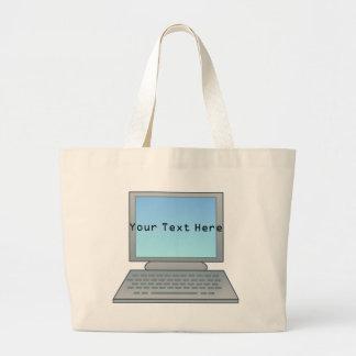 La bolsa de asas del ordenador