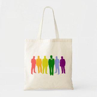La bolsa de asas del ORGULLO GAY (bandera del arco