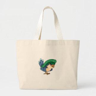 La bolsa de asas del pájaro de bebé