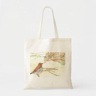La bolsa de asas del pájaro de Wordsworth