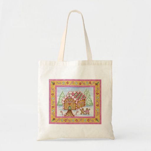 La bolsa de asas del pan de jengibre
