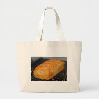 La bolsa de asas del pan hecho en casa