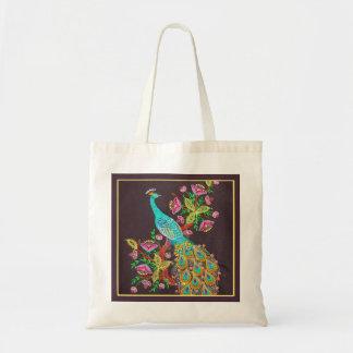 La bolsa de asas del pavo real