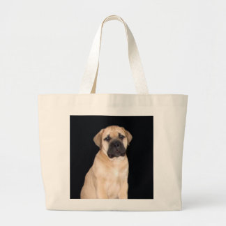 La bolsa de asas del perrito de Bullmastiff