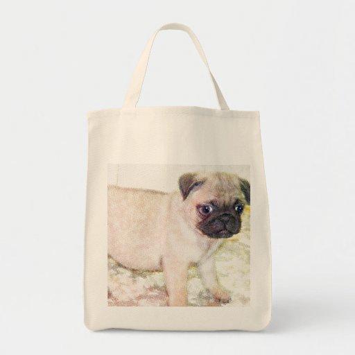 La bolsa de asas del perrito del barro amasado