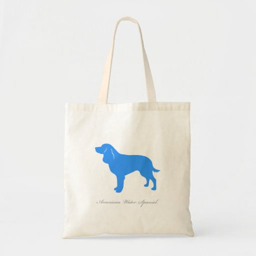 La bolsa de asas del perro de aguas de agua americ