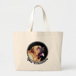 La bolsa de asas del perro de Fila Brasileiro