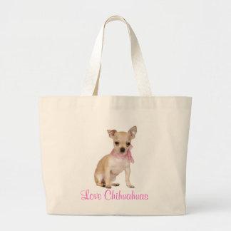 La bolsa de asas del perro de perrito de la chihua