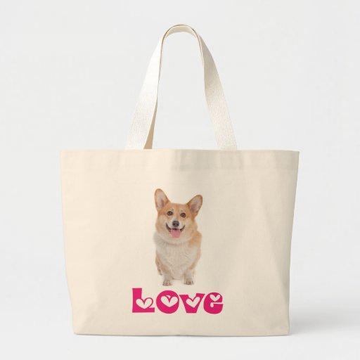 La bolsa de asas del perro de perrito del Corgi Ga
