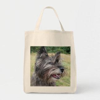 La bolsa de asas del perro de Terrier de mojón, id