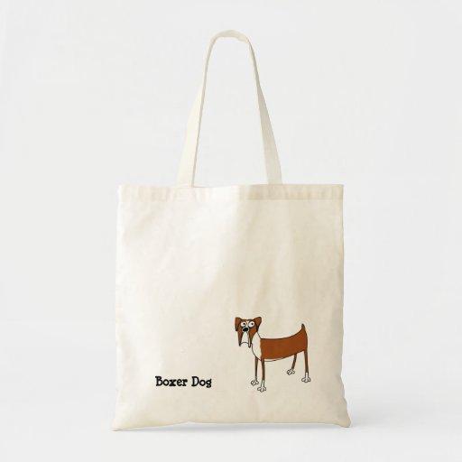 La bolsa de asas del perro del boxeador