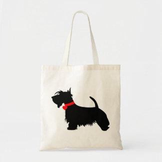 La bolsa de asas del perro del escocés