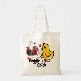 La bolsa de asas del polluelo del Veggie