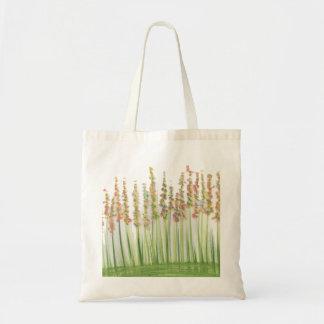 La bolsa de asas del prado de la flor