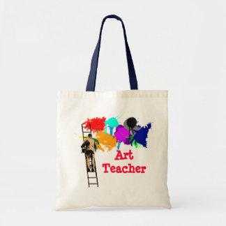 La bolsa de asas del profesor de arte