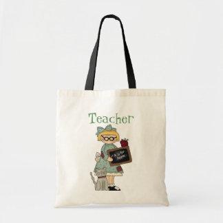 La bolsa de asas del profesor del chica del país