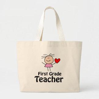 La bolsa de asas del profesor del primer grado