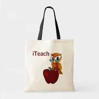 La bolsa de asas del profesor sabio del búho