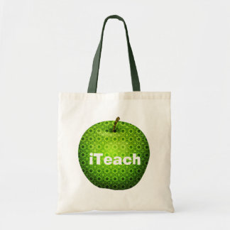 La bolsa de asas del profesor verde bonito de Appl