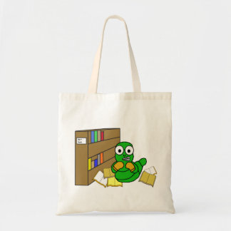 La bolsa de asas del ratón de biblioteca