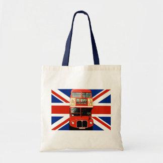 La bolsa de asas del recuerdo de Londres Inglaterr