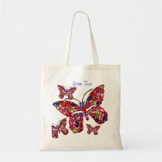 La bolsa de asas del regalo de la bisutería del vi
