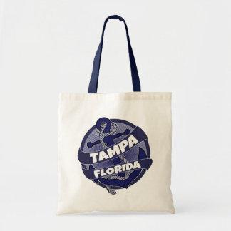 La bolsa de asas del remolino del ancla de Tampa