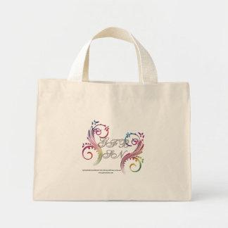 La bolsa de asas del remolino del arco iris de GFB