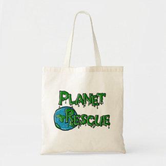 La bolsa de asas del rescate del planeta