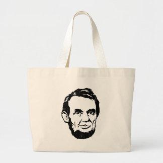 La bolsa de asas del retrato de Abraham Lincoln