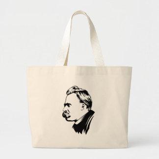 La bolsa de asas del retrato de Frederich Nietzsch