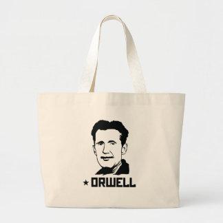 La bolsa de asas del retrato de George Orwell