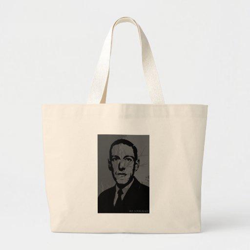 La bolsa de asas del retrato de HP Lovecraft