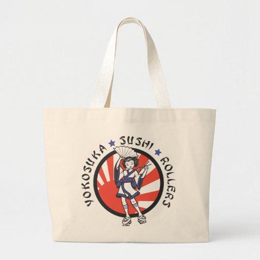 La bolsa de asas del rodillo del sushi de Yokosuka